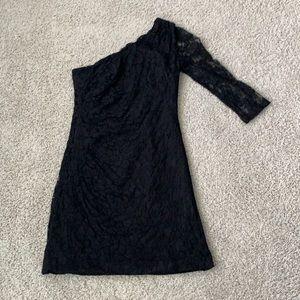Lace One Sleeve Dress